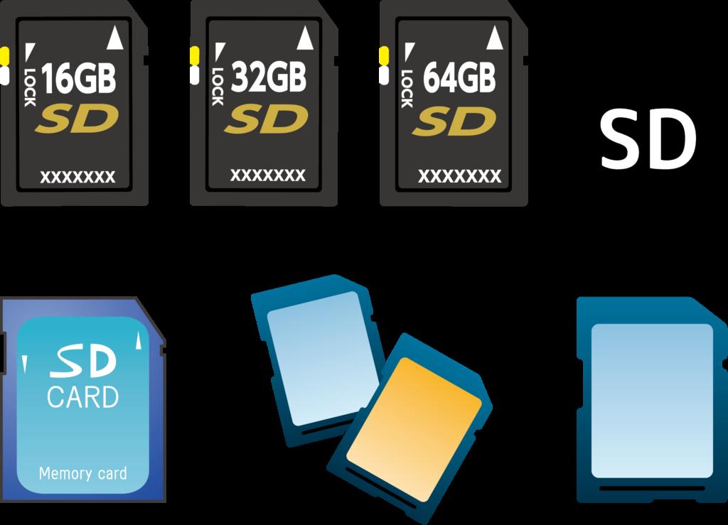 SDカードの違いについて